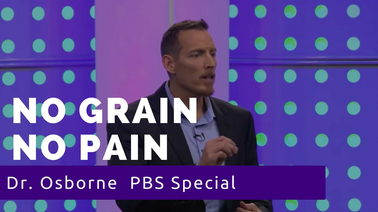 No grain no pain, Dr Peter Osborne TV Program