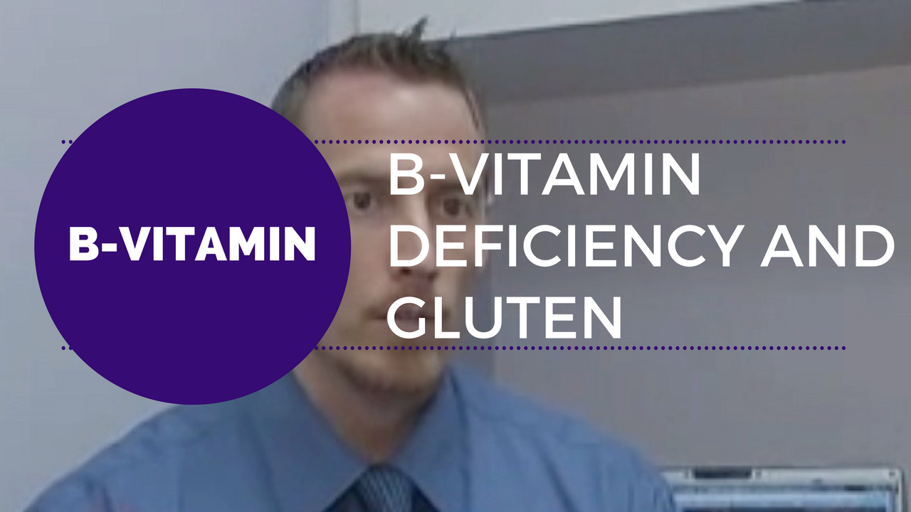 B-Vitamin deficiency and gluten cause heart issue