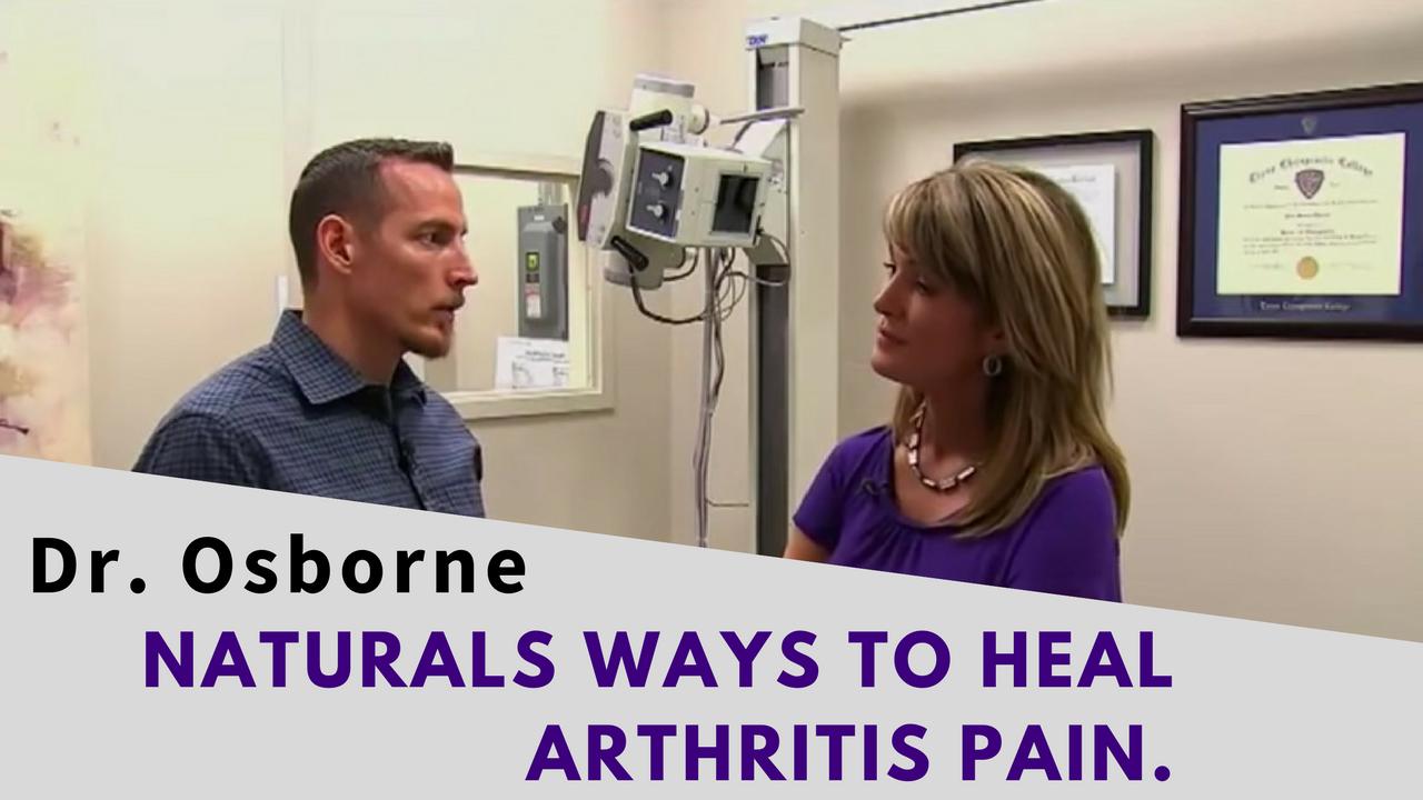 Dr Peter Osborne on Fox News Natural ways to heal Arthritis Pain