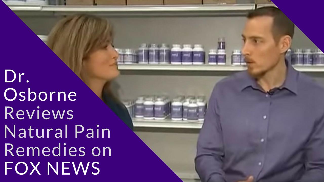 Dr Peter Osborne On Fox News Discussing Natural Pain Remedies Gluten