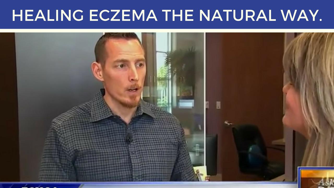 Healing eczema the natural way.